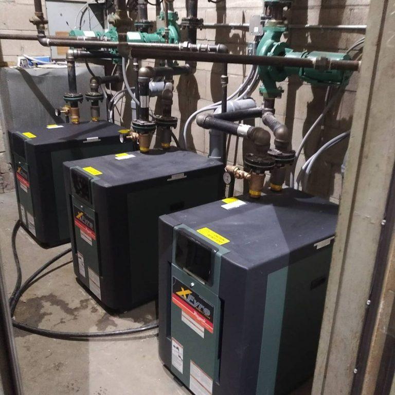 Condensing Boiler Plant