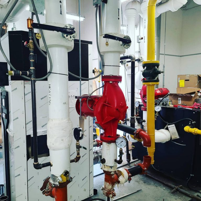 Fresh Boiler Install
