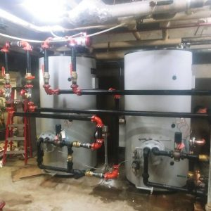 DHW Indirect heated tank install